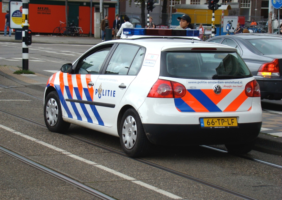 Politie auto Foto Joe Pemberton Flickr