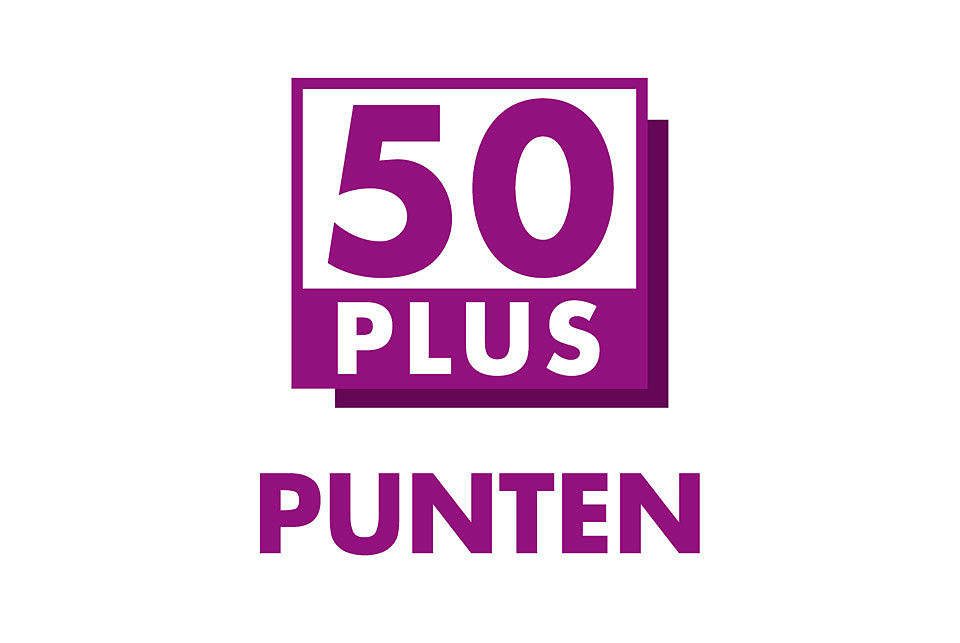 Verkiezingsprogramma in 50plus punten for 50 plus pictures
